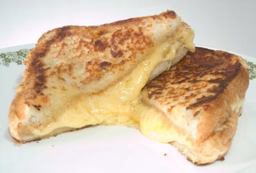 how to cook grilled cheese on griddle